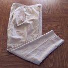 I B DIFFUSION WOMEN'S Beige Linen Blend Career PANTS Size 8 001p-53 locationw6