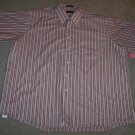 ARROW MEN'S Short Sleeve Red Button Front SHIRT Size XXL 18 1/2 001SHIRT-8 location90