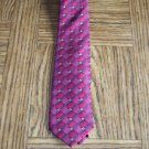 GEORGE Men's TIE NECKTIE Burgundy Diamonds location100