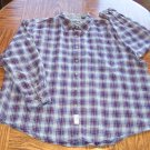 WRANGLER MEN'S Long Sleeve Plaid SHIRT Size 2XL XXL 001SHIRT-33 location90