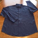 ALFANI MEN'S Long Sleeve Navy SHIRT Size L Large 001SHIRT-44 location99