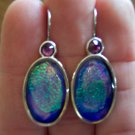 Retired Silver CHICO'S Pierced EARRINGS French Ear Wires