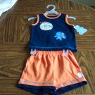 CHILD OF MINE CARTERS INFANT Boy's SHORTs set  3 - 6 Months Baseball Rhino locationw9