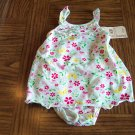 INFANT Girl's Butterfly Floral SUNDRESS With Matching Diaper Cover Bottoms 3 - 6 Months locationw9