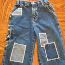 P.S. 123 Boy's JEANS 24 Months Patchwork Carpenter Style locationw9