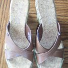 Awesome TOMMY HILFIGER Summer Wedge SANDALS Slides Shoes Size 7 M locationw1