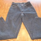 Black EDDIE BAUER Classic Cut WOMEN'S JEANS Style Id 0805 Size 4 Tall 001p-75 locationw12