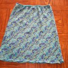 SWAT Blue Paisley GIRLS SKIRT Size Large 001s-40 Juniors locationw11