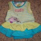 Wonderful World of Disney INFANT Girl's Eyeore Romper 0-3 Months locationw9