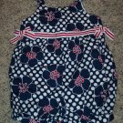 Candy Apple GYMBOREE April 2004 Line INFANT Girl's Romper Outfit 3 - 6 Months locationw9
