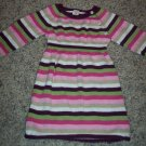 Sweet Striped BABY GAP INFANT Girl's Knit DRESS 6 - 12 Months locationw9