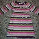 Sweet Striped BABY GAP INFANT Girl's Knit DRESS 6 - 12 Months locationw9