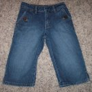 BLU Little Girl's Denim Capris Vintage Wash Size 5 Regular locationw4