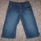 BLU Little Girl's Denim Capris Vintage Wash Size 5 Regular locationw4
