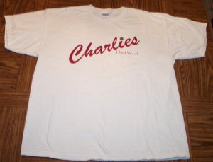Gildan MEN'S SHORT SLEEVE Charlies Third Ward T Shirt Size XL Extra Large 001SHIRT-60 location97