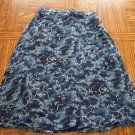 Willow Bay Flared Floral Print SKIRT Lined Size Small 001s-48 Womens Skirts locationw7