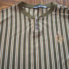 MARITHE GIRBAUD FRANCOIS MEN'S LS Vertical Stripe SHIRT Sz XL 001SHIRT-62 locationw7