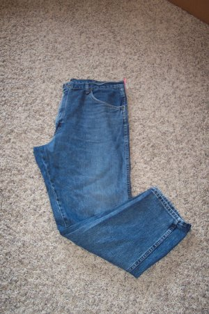Wrangler Mens Whiskered Men's JEANS Waist 40 Inseam 32 001mj-7 locationw4