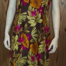 Rafael Tropical Print DRESS Size 10 Cruise dress-25 locationw13