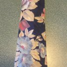 Croft & Barrow Men's TIE NECKTIE Navy Floral tie15 location47