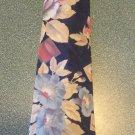 Croft & Barrow Men's TIE NECKTIE Navy Floral tie15 location47