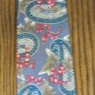 L'Atelier Vintage Men's TIE NECKTIE Gray Paisley Floral tie16 location47