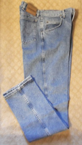 Wrangler Rugged Wear Men's JEANS Waist 34 Inseam 36 001mj-9 location48