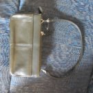 Vintage Amity Olive Green CLUTCH Wallet Handbag Purse locationw1