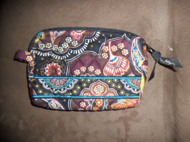 NWOT Vera Bradley Kensington Retired Small Cosmetic Case Floral Print location15
