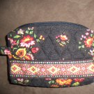 NWoT Vera Bradley Chocolat Retired Small Cosmetic Case Floral Print location15