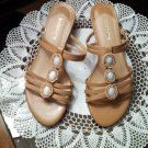 Liz Claiborne Beaded SR12/06 Bethanie SANDALS Shoes Size 6 M locationw14
