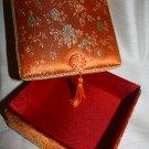 Square Orange Keepsake Box