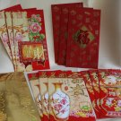 Chinese New Year Red 'Money' Envelopes (3 envelopes per packet)