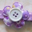 Springtime Lilac Daisy Flower Clip-No Slip Grip