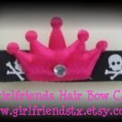 Punk Princess Skull Hair Clip-No Slip Grip for Fine Hair from Baby to Teen