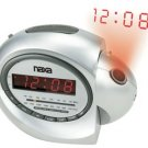 Naxa NX-162 projection alarm clock with am/fm radio & snooze