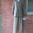 VINTAGE AUTH BURBERRYS BROWN CHECK PANTS SUIT 4
