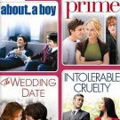 4 MOVIE MARATHON ROMANTIC COMEDY COLLECTION BRAND NEW SEALED