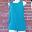 NWT ANN TAYLOR LOFT SEA GREEN SLEEVELESS SWEATER S