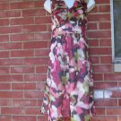 NWOT ANN TAYLOR LOFT FEMININE RED FLORAL PRINT DRESS 6