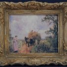 Victorian Landscape -- Mini-Print with Ornate Frame