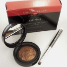 Laura Geller BEWITCHING BRONZE Eye Rimz Baked Wet/Dry Accent Shadow/Liner +Brush