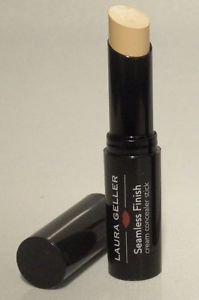 Laura Geller Seamless Finish Cream Concealer Stick in LIGHT Full Size No Box $23