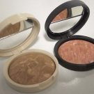 Laura Geller TAN Balance N Brighten Baked Foundation Full Size w/Blush Choice