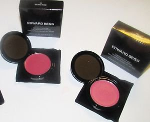 Edward Bess Compact Rouge Set ISLAND ROSE Bright Pink & LOVE AFFAIR Medium Pink