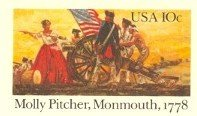 US Postal Card 1978 10 cent Molly Pitcher Battle of Monmouth First Day Issue SC UX77