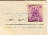 Northwest Territory 3 cent Stamp FDI SC 837 First Day Issue
