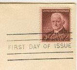 George Eastman 3 cent Stamp FDI SC 1062 First Day of Issue