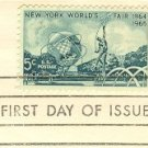 New York Worlds Fair 1964 1965 5 cent Stamp FDI SC 1244 First Day Issue