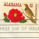 Alabama Statehood 6 cent Stamp FDI SC 1375 First Day Issue